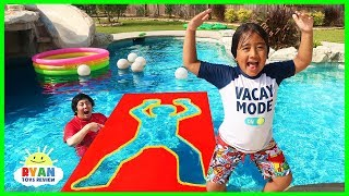 Download Jumping Through impossible Shapes into Water!! Video