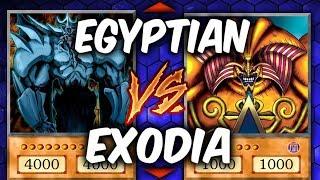 Download Yugioh EGYPTIAN GODS vs EXODIA (Yu-gi-oh God Card Deck Duel!) Video
