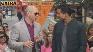 Download Pitbull Talks Banned Video, Reveals Celebrity Crush Video