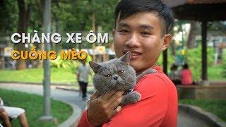Download Chàng xe ôm Sài Gòn cuồng mèo gây thích thú dân mạng Video