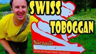 Download Longest Alpine Coaster in Switzerland - Frakigaudi Toboggan Video