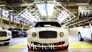 Download CAR FACTORY : BENTLEY MULSANNE PRODUCTION LINE l Pyms Lane Factory Video