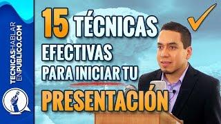 Download Como Hacer un Discurso: 15 Técnicas Efectivas Para Iniciar Tu Presentación | Tecnicas de Oratoria Video