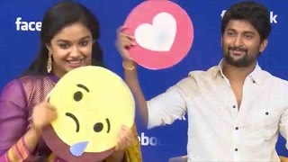 Download Hero Nani & Keerthi Suresh FUNNY Interview - Face Book Live - Nenu Local Movie Interview Video
