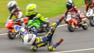 Download Crash! Amazing Minibikes and Karts Compilation Video
