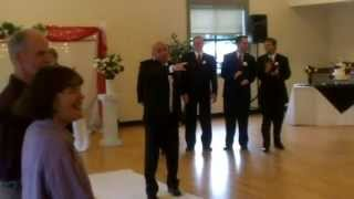 Download Bruno Mars song Marry Me SURPRISE ENTRANCE!! Wedding Ceremony Entrance lip synced by Groom. Video
