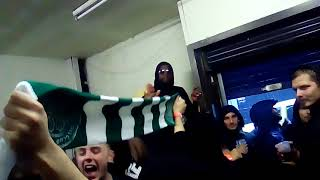 Download Celtic and PSG fans singing together before the match Video