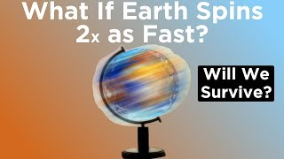 Download What If Earth Started Spinning Twice as Fast Right Now? Video