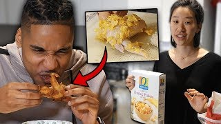 Download My Korean Fiancée Tries To Cook Me Soul Food! | SLICE n RICE 🍕🍚 Video