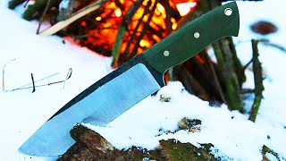 Download Knifemaking - knife from a wood saw Video