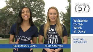 Download Julian Abele Honored; #KVille30: The Week at Duke {in 60 Seconds} Video