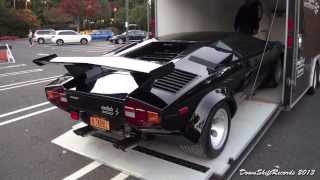 Download Unloading Lamborghini Countach LP 5000S Video