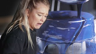 Download Galaxy Mirror Glaze Cake: Behind Tasty Video