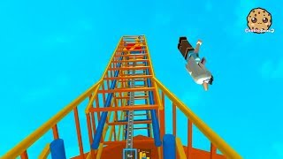 Download Rollercoaster Disaster ! Fail at Theme Park ! Roblox Game Play Video Video