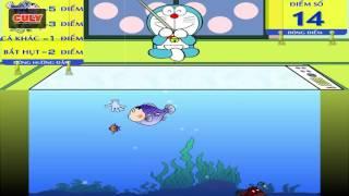 Download Doremon chơi câu cá đầu Chaien Xeko | cu lỳ chơi game #46 | doraemon fishing game funny gameplay Video