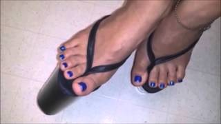 Download 8 inch Platform High Heel Stiletto Thongs by V.I.P. Video