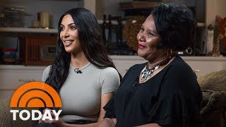 Download Kim Kardashian West And Freed Inmate Alice Johnson Meet For The First Time | TODAY Video