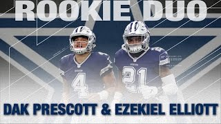 Download Dak Prescott & Ezekiel Elliott: Top 5 Moments of The 2016 Cowboys Season | NFL Highlights Video