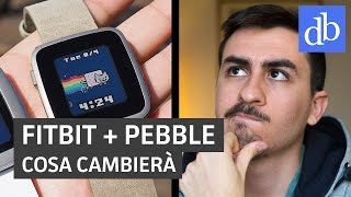 Download Fitbit compra Pebble! E ora? • Ridble Video