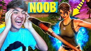 Download SIENDO NOOB POR UN DÍA en FORTNITE: Battle Royale!! - Agustin51 Video