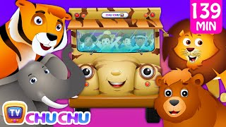 Download Wheels on the Bus - Wild Animals & Animal Sounds and Many more Nursery Rhymes Collection | ChuChu TV Video