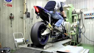 Download Arrow Exhaust 2015 Yamaha R1 - Dragon's Breath! Video