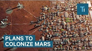 Download Watch Elon Musk Reveal SpaceX's Most Detailed Plans To Colonize Mars Video