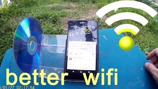 Download How to get better wifi signal from neighbor, diy phone holder Video
