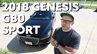 Download 2018 Genesis G80 Sport | Hands on First Look Video