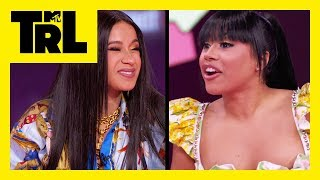 Download Hennessy Carolina Surprises Cardi B w/ A Brand New Gucci Bag! | I Did It | TRL Video