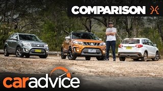 Download Comparison: 2016 Suzuki Vitara Range Review | CarAdvice Video