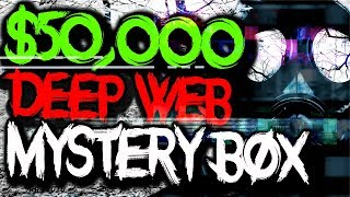 Download Buying EXPENSIVE $50,000 Mystery Box from the Dark Web.. (CRAZY) Video