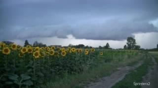 Download Szupercella Pereszteg mellett /Supercell near Pereszteg, NW Hungary/ Video