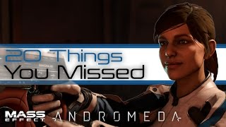 Download Mass Effect Andromeda: 20 Things You missed in the Game Awards Trailer (Full Trailer Analysis) Video