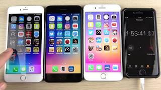 Download iPhone 6S Plus vs iPhone 7 Plus vs iPhone 8 Plus iOS 11.2.5 Battery Drain Test! Video