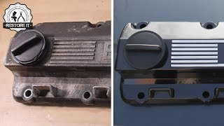 Download Old BMW E30 Rocker Cover Restoration Video