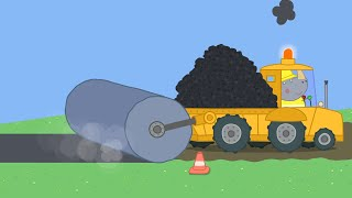 Download Peppa Pig Full Episodes - Mr Bull's New Road - Cartoons for Children Video