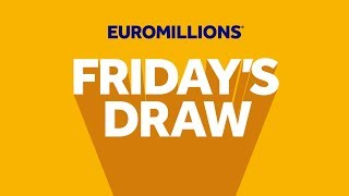 Download The National Lottery 'EuroMillions' draw results from Friday 17th January 2020. Video