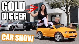 Download CAR SHOW TAKE OVER With Power Wheels - First Show with the GT500 Video