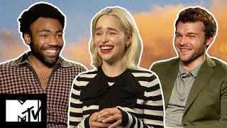 Download Solo: A Star Wars Story Cast's Funniest Moments   MTV Movies Video