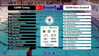 Download Game 199 (NZL vs TUR U24M) ENGLISH- 5th CMAS Underwater Hockey Age Group Worlds - Sheffield, UK Video