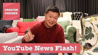 Download Updates to Studio Beta and Improvements to Subs Shelf, Headlines & Snapshot! | YouTube News Flash Video