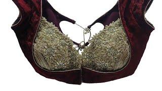 Download bra cut कटोरी blouse की कटिंग और सिलाई का सरल तरीका Video