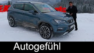 Download Seat Ateca AWD road & snow offroad test REVIEW - Autogefühl Video