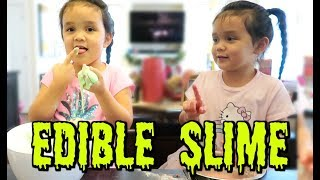 Download Trying Edible Slime! - ItsJudysLife Vlogs Video