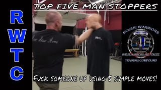 Download Top 5 simple moves to end a street fight in SECONDS Video