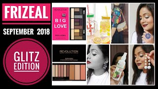 Download Frizeal September 2018 |Glitz Edition |With Makeup Revolution | Discount Code |Unboxing and Review Video
