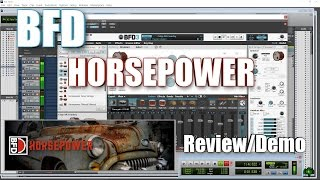 Download BFD HORSEPOWER - Demo/Review Video