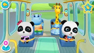 Download ❤ Little Panda School Bus | Go Shopping, Costume Show, Play Toys | BabyBus Game Video