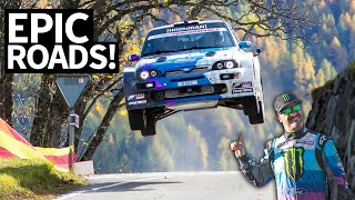Download Antilag in the Alps: Epic Rally Views in Switzerland in My Ford Escort Cossie V2 Video